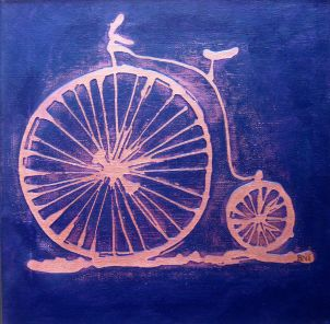 """The Velocipede"" by Sarah Northcott, courtesy of the artist."